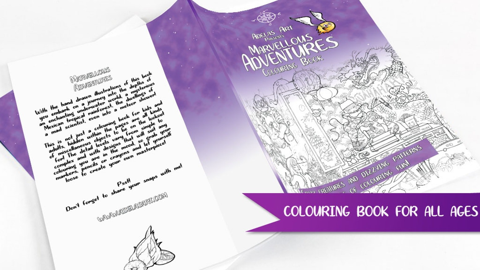 Colouring Book - Cover