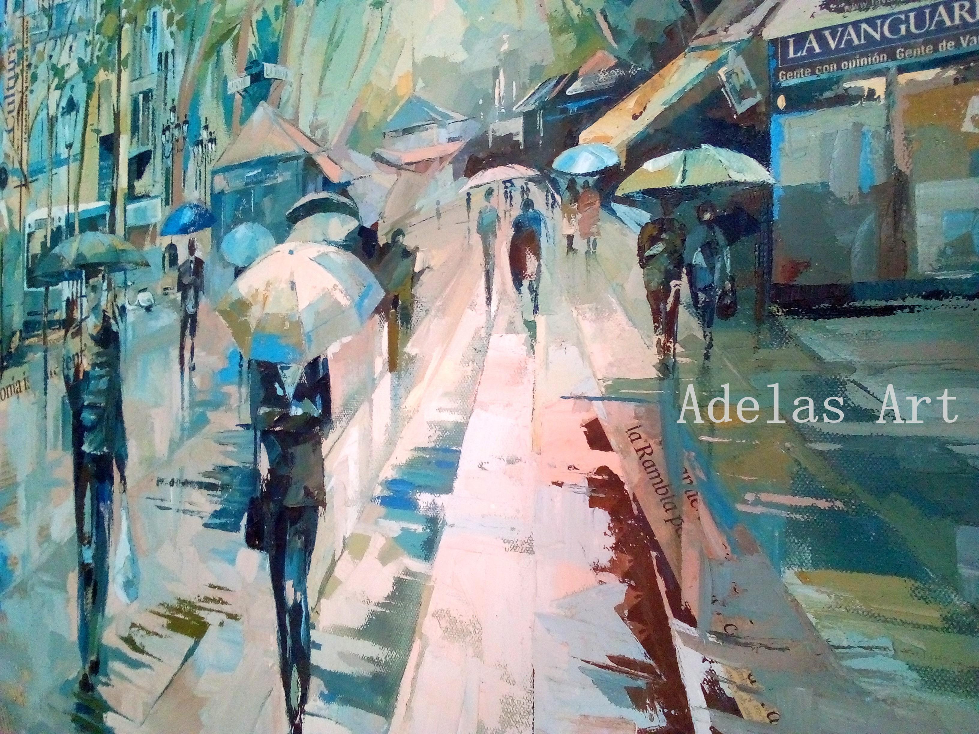 """Rambleando"" by Adelas Art - side view"