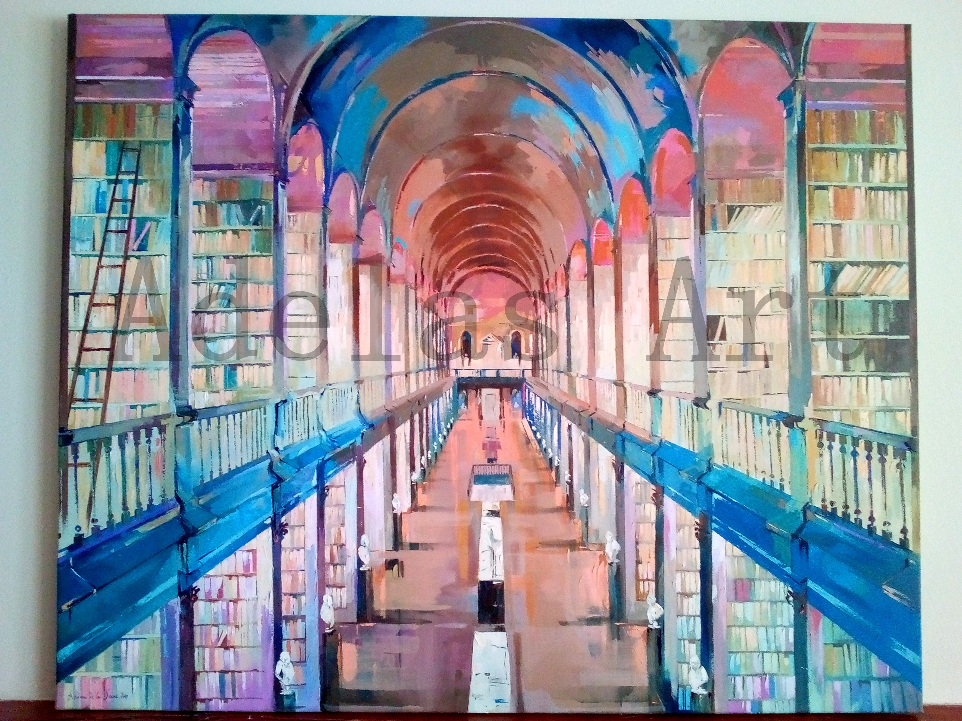 """Trinity College"" by Adelas Art - front view"