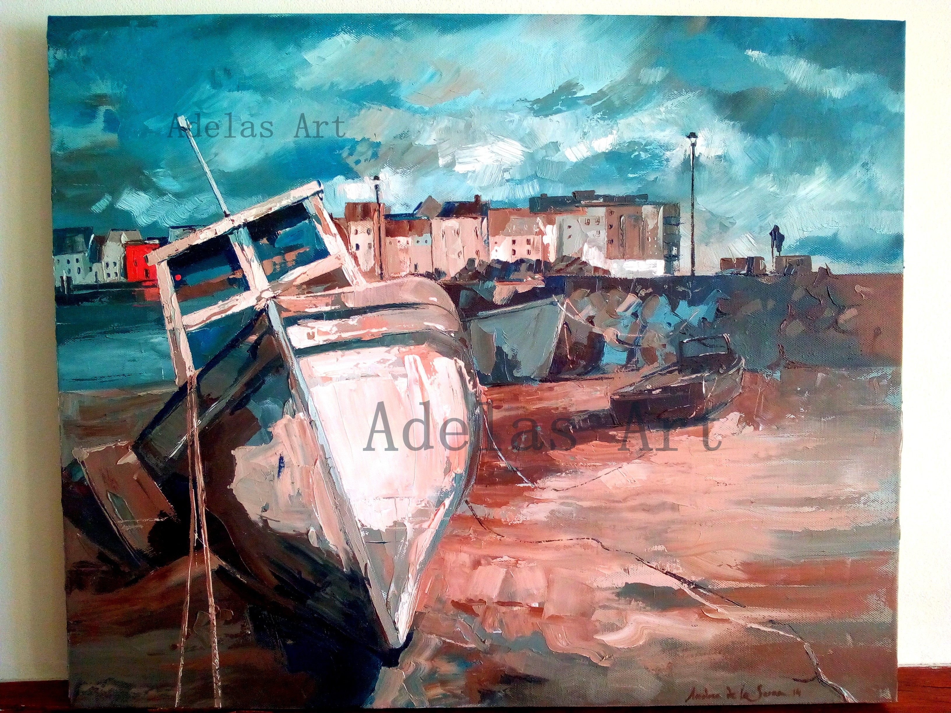"""Galway"" by Adelas Art - front view"