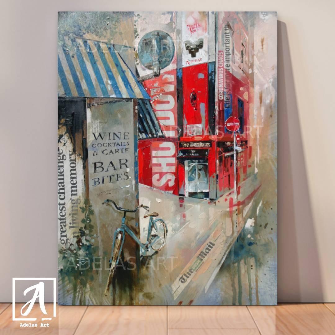 Original Oil Painting Created during the 2020 lockdown in Ireland - Adelas Art