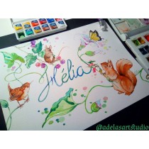 """Hélia"" by Adelas Art - Front view"