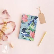 Handmade vegan notebook by Adelas Art, Dublin