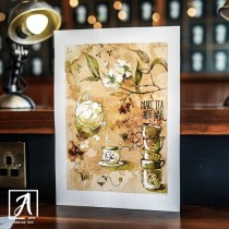 """Mister Tea"" Art Print by Adelas Art"