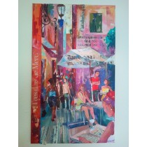 """Barrio Gótico"" by Adelas Art - front view"