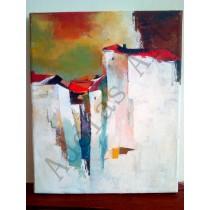 """""""Pueblo blanco"""" by Adelas Art"""