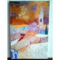 """The clocktower"" by Adelas Art"