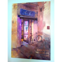 """Bar Cinc Minuts"" by Adelas Art"