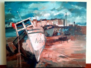 """""""Galway"""" by Adelas Art - front view"""