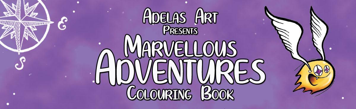 Adelas Art Original Colouring Book