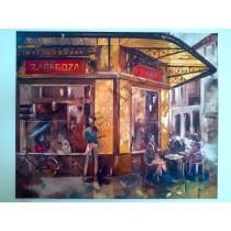 """Gran Zaragoza"" by Adelas Art - front view"